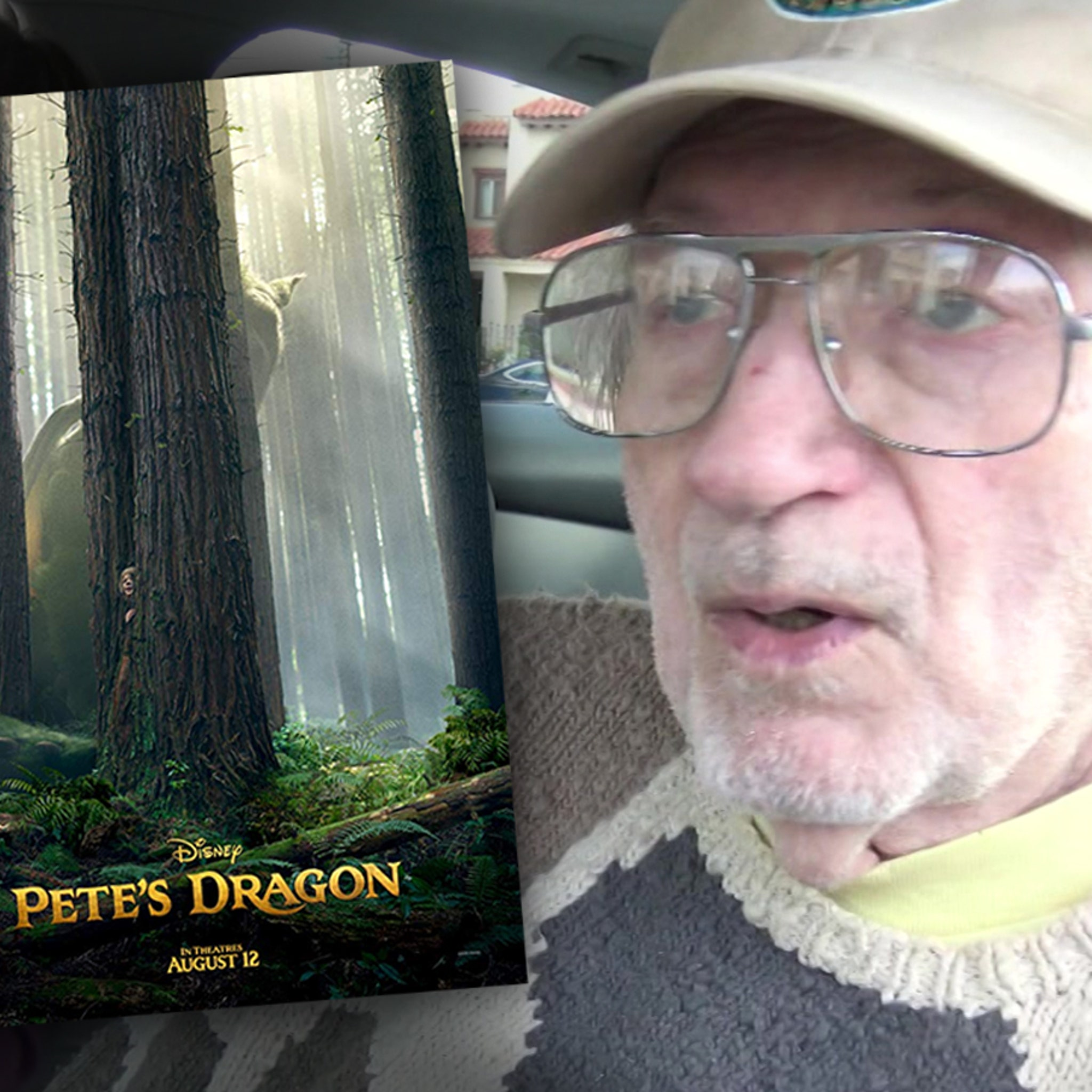 'Pete's Dragon' Writer Says Sons Duped Him into Screwing Over His Wife