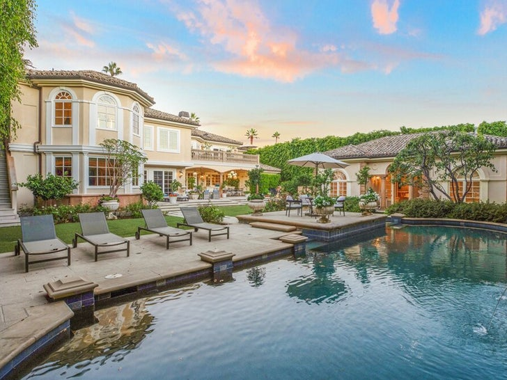 Larry King's Beverly Hills Home