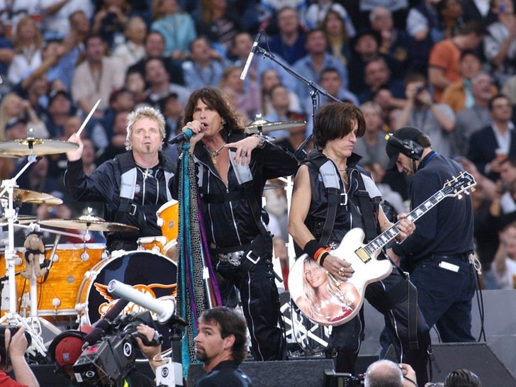 Aerosmith Through The Years