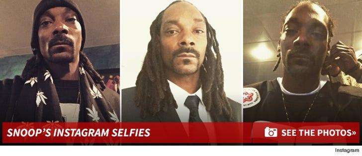 Snoop Dogg's Instagram Selfies