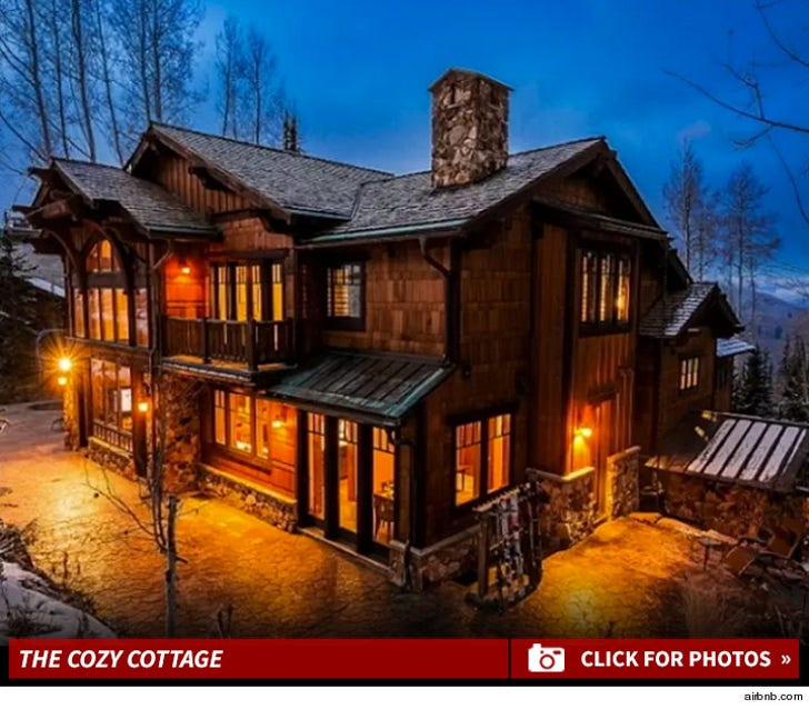 Nina Dobrev's Aspen Cabin