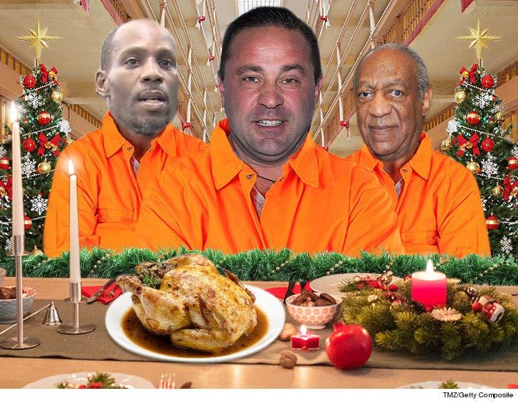 Dmx Christmas.Celeb Prisoners Christmas Feasting On Classic Items