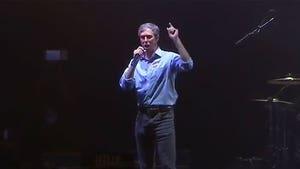 Beto O'Rourke Drops F-Bomb in Concession Speech