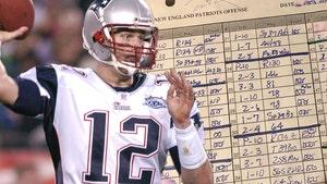 Tom Brady's Handwritten Super Bowl XXXIX Notes Hit Auction Block