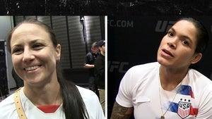 UFC Couple Amanda Nunes and Nina Ansaroff Want to Fight Each Other