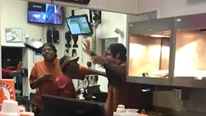Popeyes Employees Fight Worker Selling Chicken Sandwich On Side