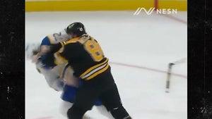 Boston's Kevan Miller Obliterates Tage Thompson In Violent Hockey Fight