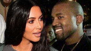 Kim Kardashian & Kids Attend Kanye's Chicago 'Donda' Event