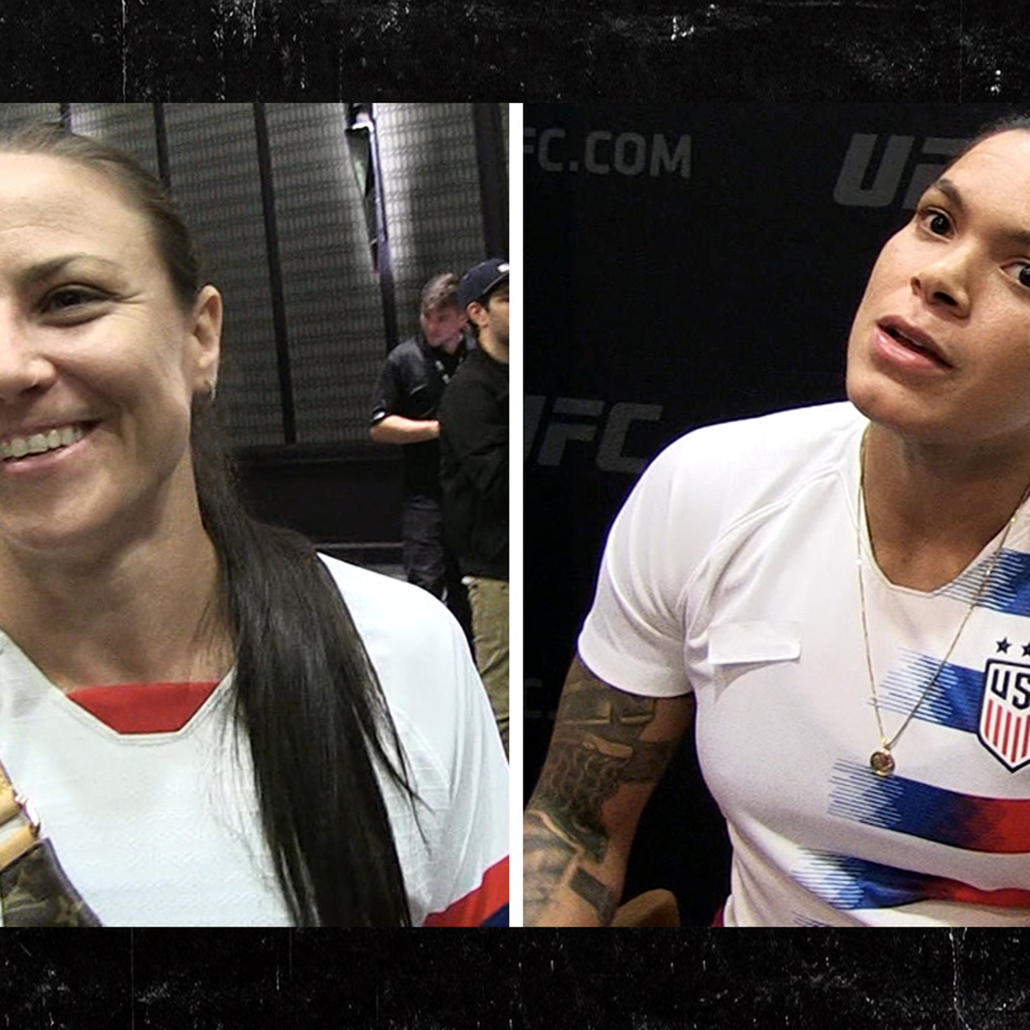d9cd4a472bc5 UFC Couple Amanda Nunes and Nina Ansaroff Want to Fight Each Other
