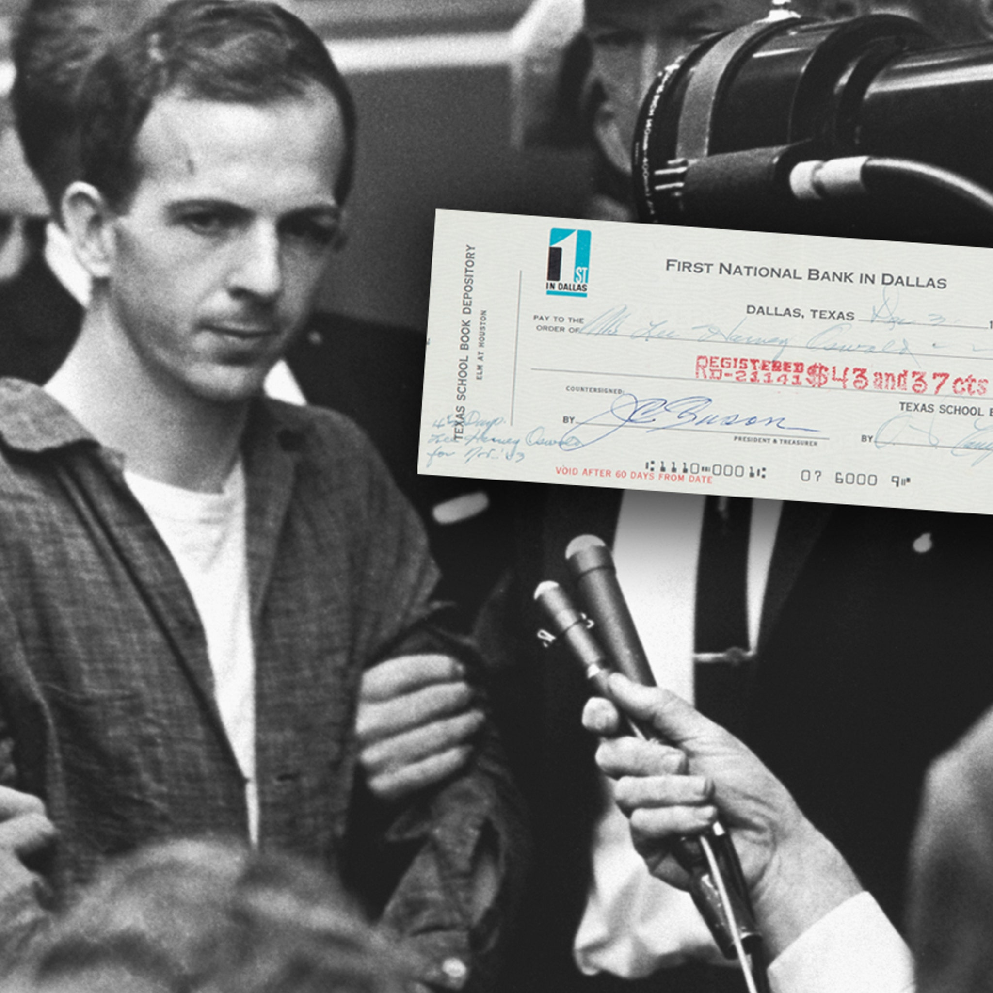 Lee Harvey Oswald's Final Uncashed Paycheck, Up for Auction