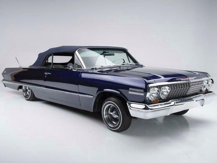 Kobe Bryant's Awesome 1963 Chevy Impala