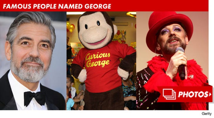 Famous People Named George