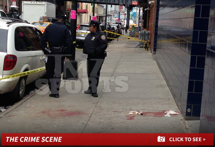 Chris Copeland and GF Stabbed -- The Crime Scene Photos