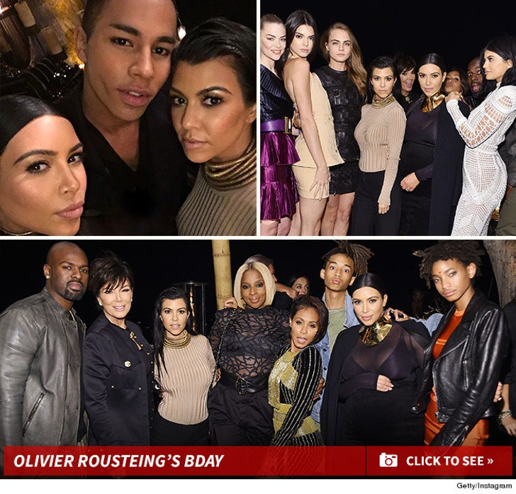 Olivier Rousteing's Bday