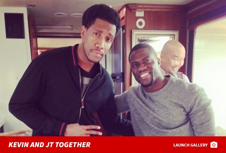 Kevin Hart and JT Jackson Together