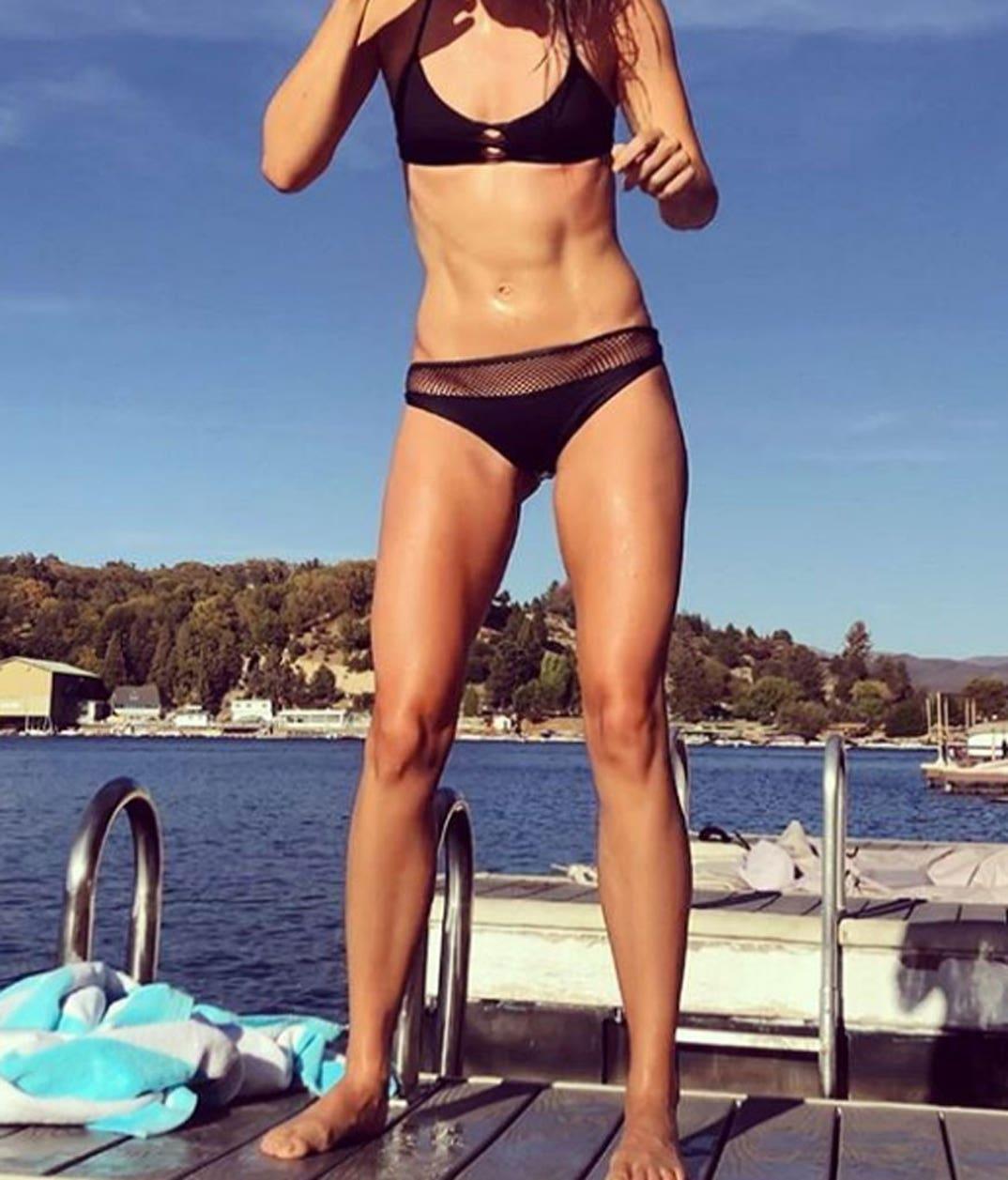 Joey King Hot celebrity bikini bods -- guess who!
