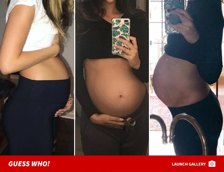 Food Baby or Baby Belly -- Guess the Bump!
