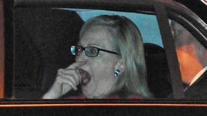 Hillary Clinton Parties From Dusk 'Til Yawn