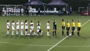 UCLA Women's Soccer Players Continue Kneeling Protest, 2nd Season In a Row