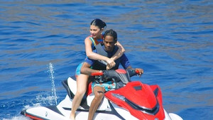 Kylie Jenner Wet and Wild with Travis Scott for 22nd Birthday