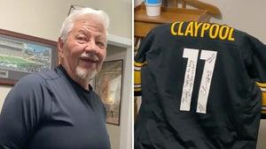 Steelers' Chase Claypool Signs Jersey For Fan Battling Dementia, He Loves It!