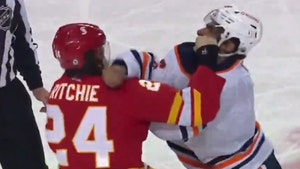 NHL's Jujhar Khaira Knocked Out After Taking Violent Punch During In-Game Fight
