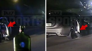 NFL's Mike Hughes Vomited All Over Teammate's Car During '19 Police Stop, Video Shows