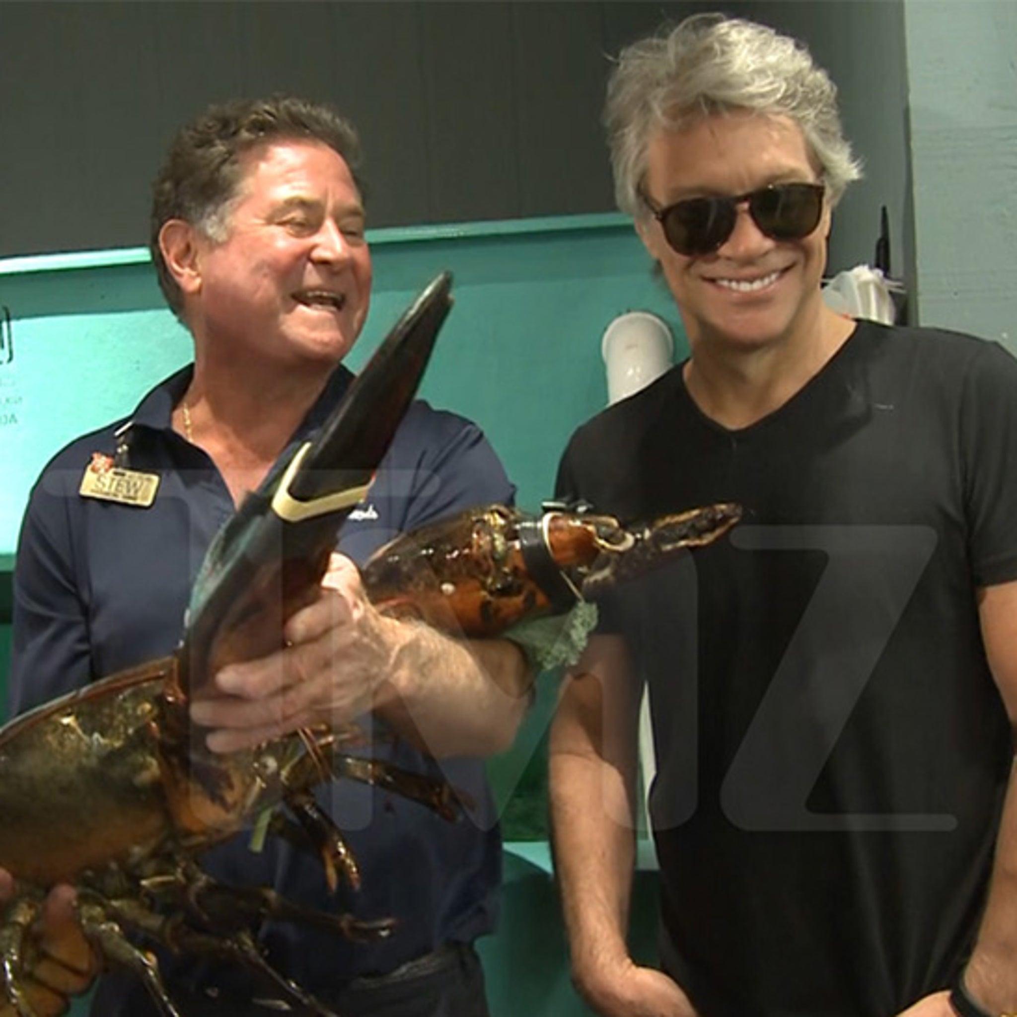 Jon Bon Jovi Meets Bon Jovi ... The 19-lb. Lobster