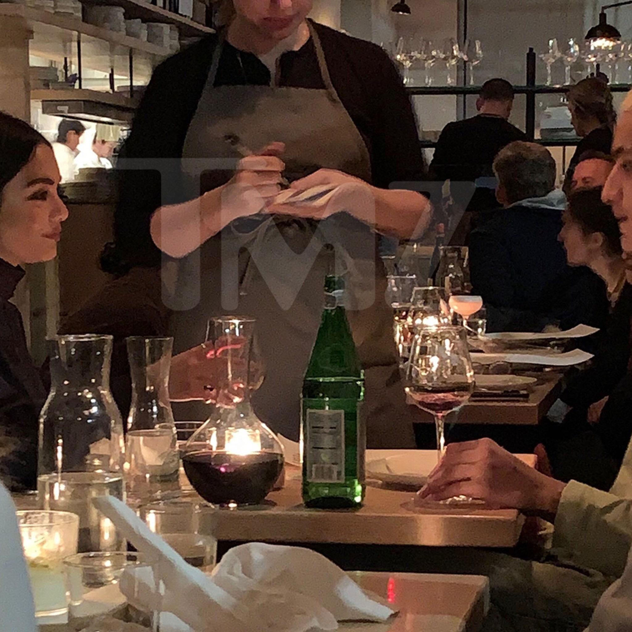 Vanessa Hudgens Grabs Dinner With Lakers' Kyle Kuzma