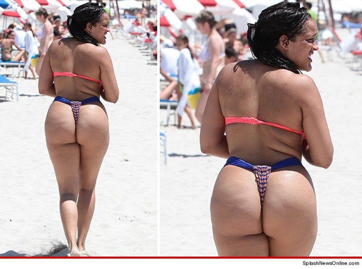Big butts in thong bikinis hot porno