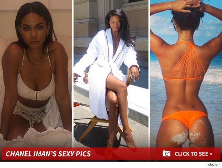 Chanel Iman's Sexy Shots