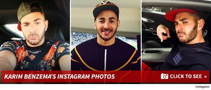 Karim Benzema's Instagram Photos