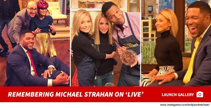 Remembering Michael Strahan on 'Live'