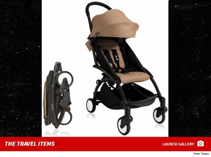 Khloe Kardashian's Baby Travel Items