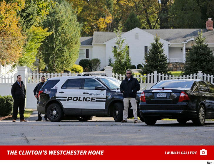 The Clinton's Westchester County Home