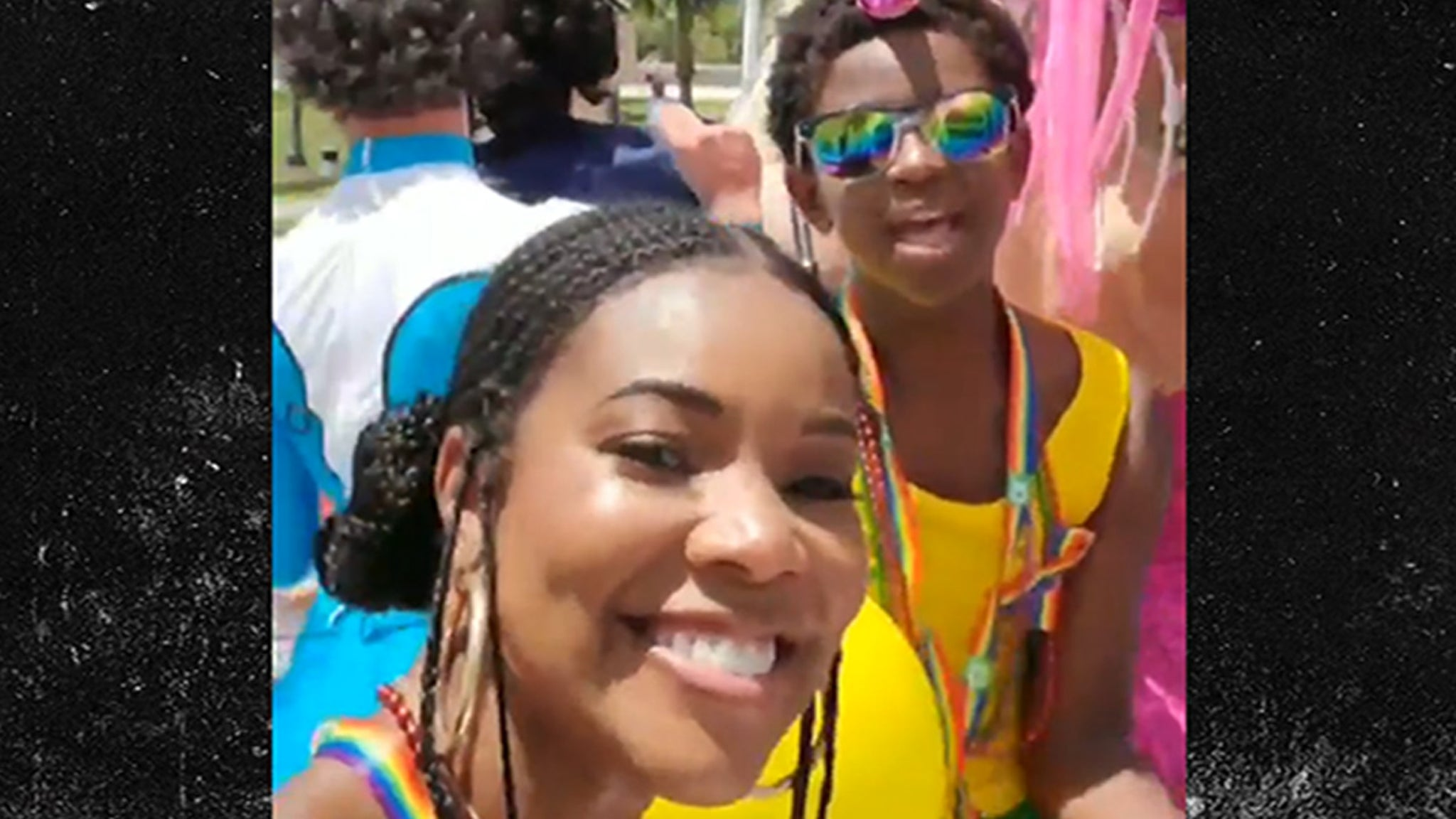 Dwyane Wade and Gabrielle Union Support 11-Year-Old Son at Gay Pride