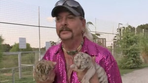 Joe Exotic's Pink Sequin 'Tiger King' Shirt Sells for $4,200