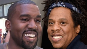 Kanye Debuts New Song with Jay-Z at 'DONDA' Release
