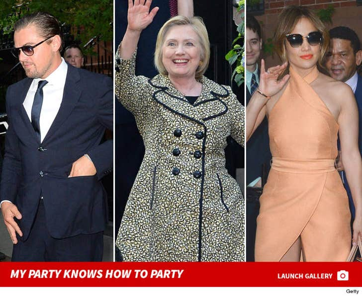 Hillary Clinton -- My Party Knows How To Party