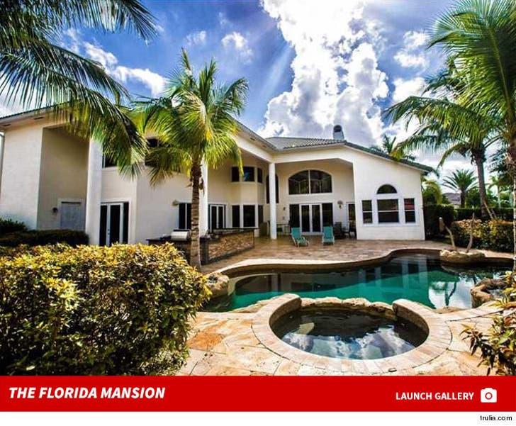 Chad Ochocinco's Florida Mansion