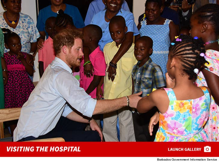 Prince Harry Visits Nightingale Children's Hospital