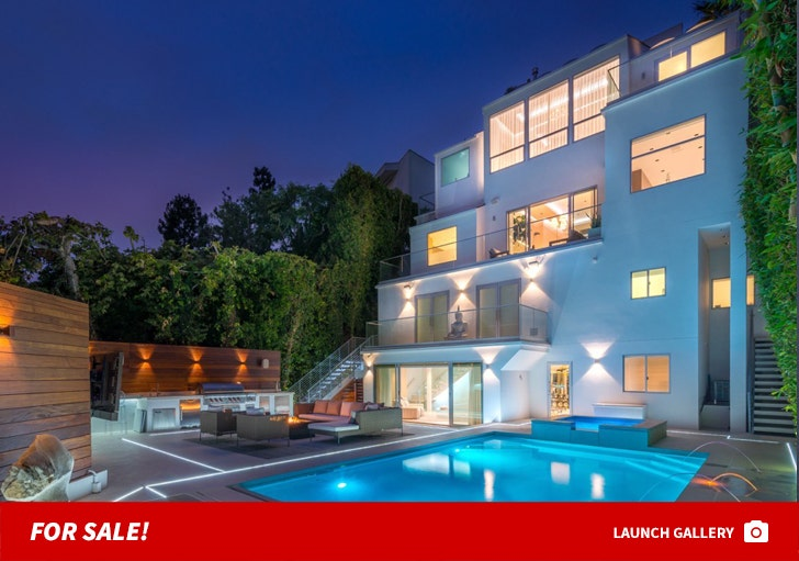 Mel B and Stephen Belafonte's Hollywood Hills Home -- For Sale!