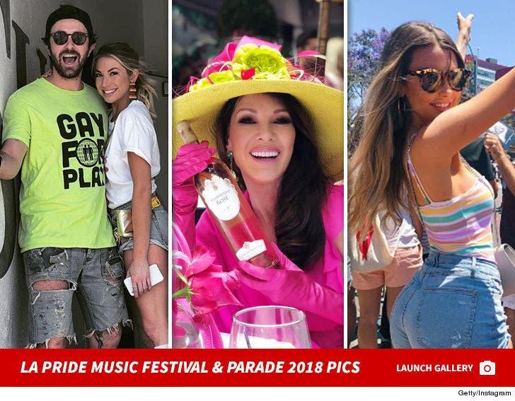 LA Pride Music Festival And Parade 2018 Pics