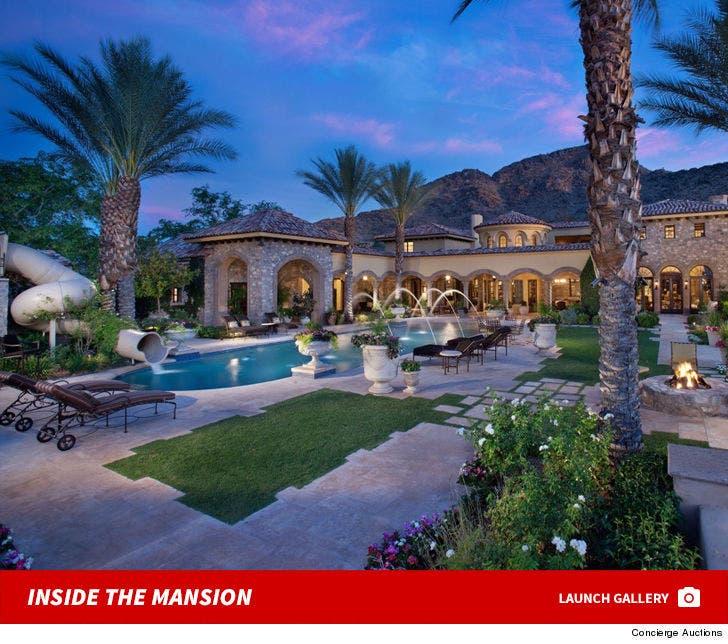 Randy Johnson's Arizona Mansion