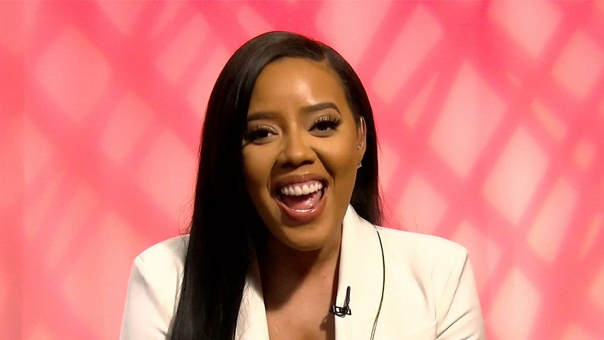 Angela Simmons Says She's Not Dating Bow Wow Right Now