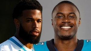Panthers WR Stretchered Off Field After Hit To Head, DB Cut From Team