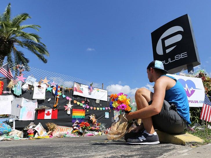 Memorial Outside Of Pulse Nightclub