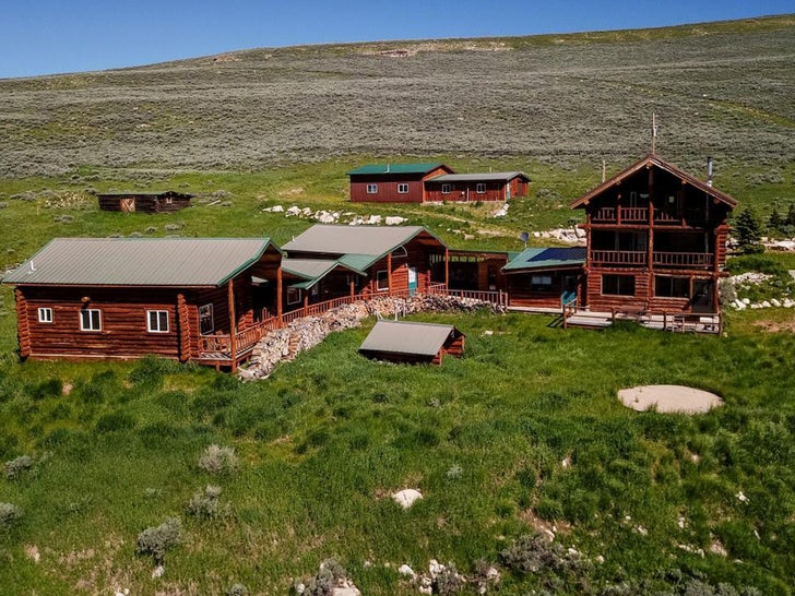 Kanye West's Bighorn Mountain Ranch