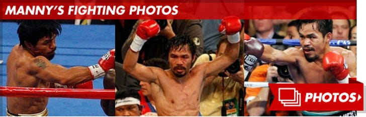 Manny Pacquiao's Fightin' Photos