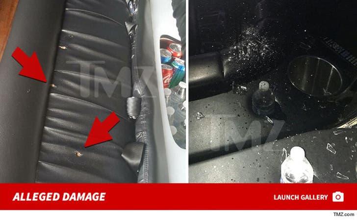 Jason Derulo Alleged Limo Damage